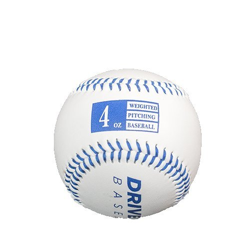 Driveline Leather Weighted Baseballs: Dark Blue, 4oz