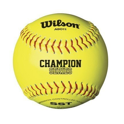 Wilson WTA9011BSST (case) 3 dozen NFHS Polycore Yellow High School Softball by Wilson (Image #2)
