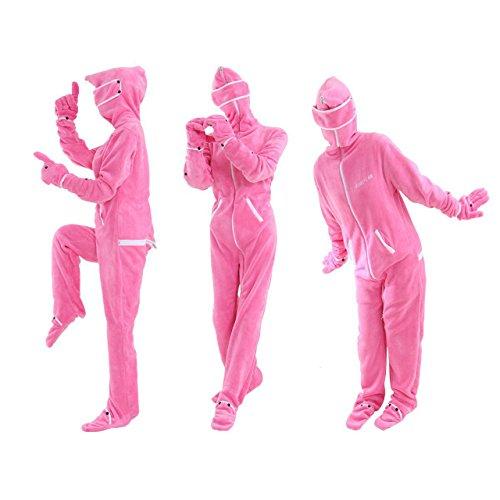 【10枚組】 BIBI LAB | ビビラボ 人型寝袋フリース X エックス | EH-PINK-S | Sサイズ | ピンク | 身長159cm | 着. B01N0ACRZ1