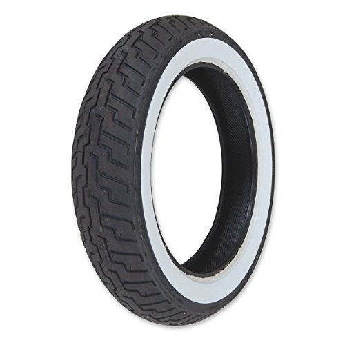 Dunlop D404 150/90-15 Wide Whitewall Rear Tire 32NM-50