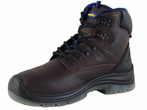 Stivali Da Uomo Mens Goodyear Sherman Marrone Eu 39