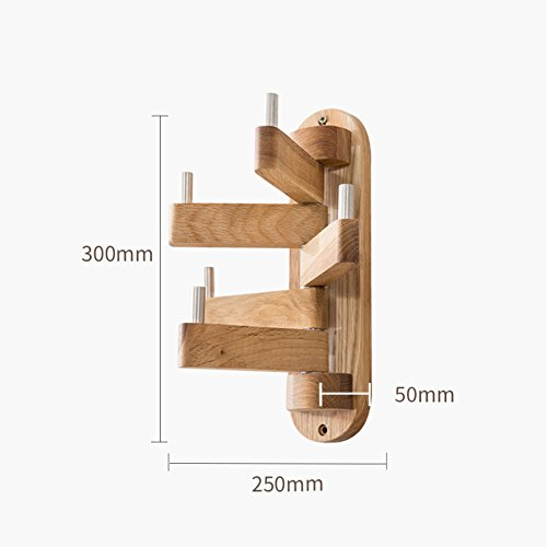 Amazon.com: Solid wood tree racks, Nordic oak minimalist ...