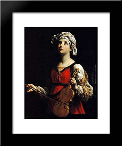 St Cecilia 20x24 Framed Art Print by Reni, - Galleria St