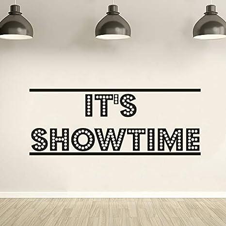 Geiqianjiumai Este es el Momento del espectáculo Cinta de póster de película Etiqueta de la Pared decoración de la Pared Tira de película Cine Cine Esquina Papel Tapiz de Arte 57 cm x 22 cm