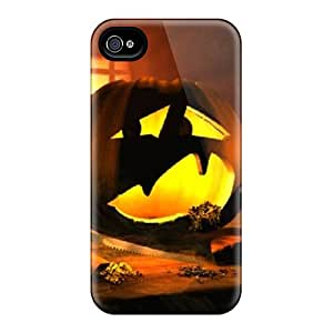 Special Design Back Halloween Pumpkin Phone Case Cover For Iphone 4/4s