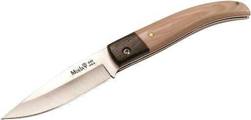 Muela PX-8B Bone Micarta Handle Folding Hunting Knife