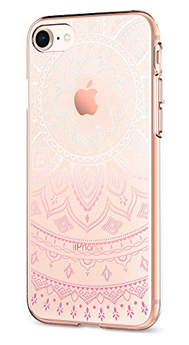Spigen Liquid Crystal iPhone 7 Case with Slim Protection and Premium Clarity for Apple iPhone 7 (2016) - Shine Pink