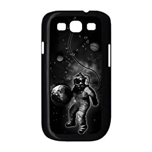 Samsung Galaxy S3 9300 Cell Phone Case Black Deep Sea Space Diver HHG Unique Phone Case For Women