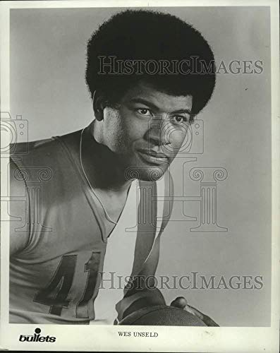 (Vintage Photos 1977 Press Photo Bullets Basketball Player Wes Unseld - mjt20780)