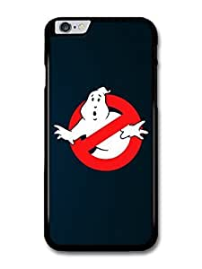 The Ghostbusters Logo Illustration Blue Background case for iPhone 6 Plus