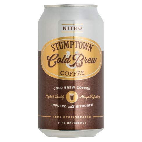 Stumptown Cold Brew Coffee, Infused with Nitrogen - 11oz   Pack of 12