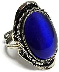Oval Cat's Eye Gemstone Ring