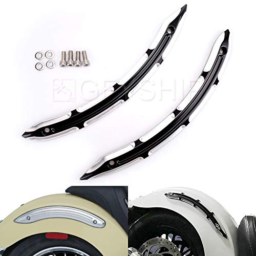 - For Indian Scout Sixty Models EXCEPT Bobber 2015 2016 2017 2018 Motorcycles Legacy Rear Fender Strut Cover Side Accents CNC