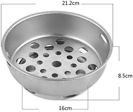 Guoguocy Grills électriques for Grills, Barbecue Charbon, Barbecue, Piscine intérieure et extérieure Korean Barbecue Grill, 34.5cm, Convient for 5-10 Personnes