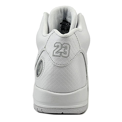 Nike Youths Jordan Flight Tradition Leather Trainers White