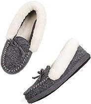 ULTRAIDEAS Women's Memory Foam Moccasin Slip