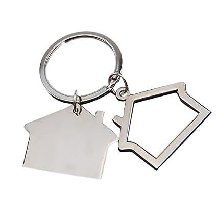 oyfel Metal llavero Trousseau port llave Metal Forma de la ...