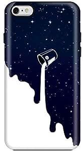 Stylizedd Apple iPhone 6Plus Premium Dual Layer Tough Case Cover Gloss Finish - Milky Way