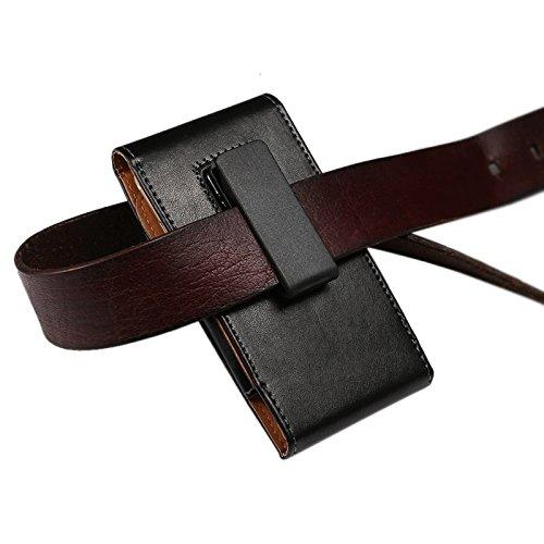 Phone case & Hülle Für IPhone 6 / 6S, Samsung Galaxy SIII, 4.7 Zoll Universal Lammfell Texture Vertikale Flip Leder Tasche / Taille Tasche mit drehbaren Rücken Schiene