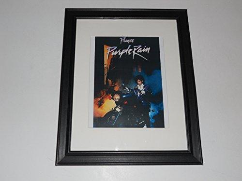 Framed Prince Purple Rain Movie 1984 Mini Poster Print Princ