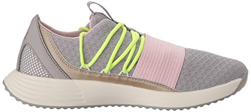 Breathe Armour Fitness Femme Chaussures silber Ua W Under Lace De Gris Bordeaux tdqFw8