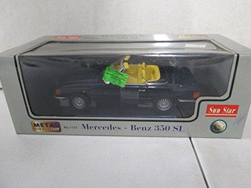 Sun Star Mercedes-Benz 350 SL 1:18 Navy Blue
