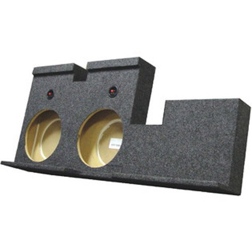 Q Power TUNDRA12 4DOOR Dual 12-Inch Unloaded Subwoofer Enclosure for Toyota Tundra 2007-2016