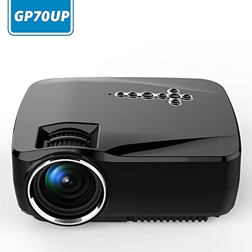 Niceeshop tm android smart wifi projector gp70up for Wireless mini projector