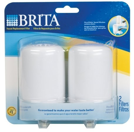 Brita 42400 White Brita On Tap Replacement (Brita Faucet Filtration)