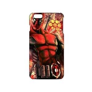 Fortune Valiant Warrior Deadpool 3D Phone Case for iPhone 6