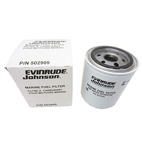 Johnson/Evinrude/OMC/BRP OEM Spin-On Water Separating Fuel Filter 25 Micron 502905, 0502905 by OMC