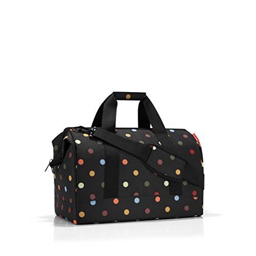 reisenthel Allrounder L, Large Weekender Bag, Black with (Pocket Weekender)