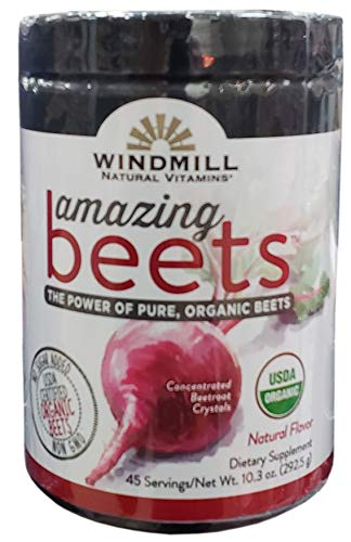 - Windmill Natural Vitamins Amazing Beets Natural Vitamins, 10.3 Ounce