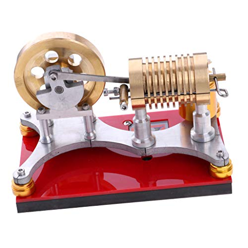 Fityle 300-500RPM Flame Licker Eater Flywheel Stirling Engine Motor Generator Science Kits by Fityle (Image #5)
