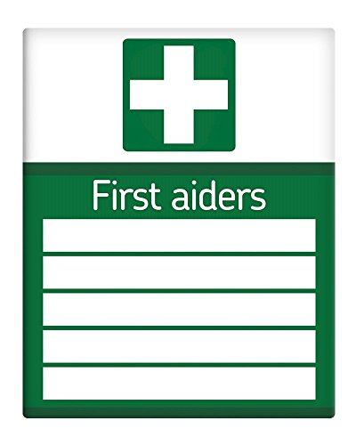 Ohngangd First Aiders Medical List Workplace Metal Sign 8'X12'