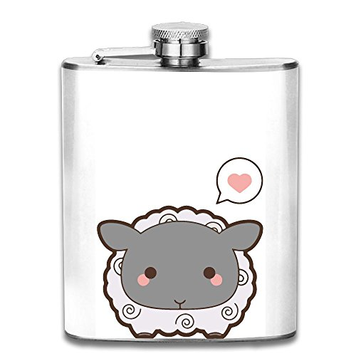 Cute Sheep Gifts Top Shelf Flasks Stainless Steel ()