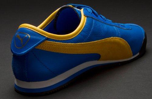 Puma Roma 68 Vintage Blue-Yellow 7UK - 40.5EU  Amazon.co.uk  Shoes   Bags 0fe0a2b7e