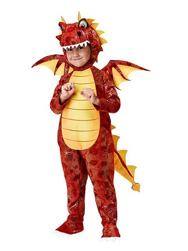 Little Boys' Fire Breathing Dragon Costume