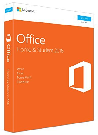 MS Office 2016 Home and Student - New for USA - Boxed Product by Business Software 2016