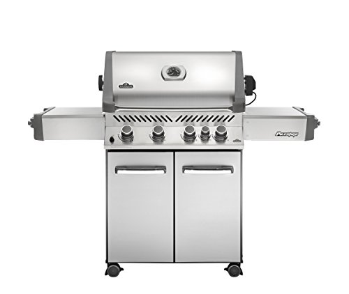 Napoleon Grills Prestige 500 with Infrared Rear Burner Stainless Steel Natural Gas Grill