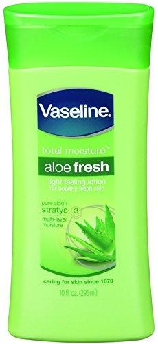 Vaseline Total Moisture Aloe Fresh Light Feeling Lotion (10-Ounce, 6-Pack)