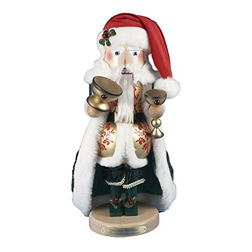 Retired Steinbach FamilyChristmas Cheer Santa Nutcracker 7th in Christmas Traditions Series, Limited Edition