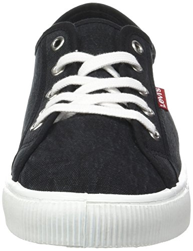 Sneaker Schwarz Footwear Accessories Malibu Noir Levi's and Herren Black Regular vqFXAwA