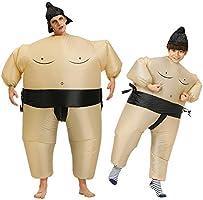 MOTOULAX Disfraz de Sumo Inflable, Disfraz Inflable Sumo ...
