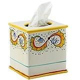 PERUGINO: Square Tissues Box Cover [#9522-PER]