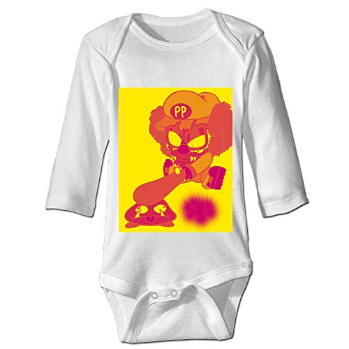 Demon Clown Infant Baby Boys Girls Clothing Shirts Long Sleeves Rompers Jumpsuit ()