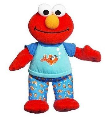 Toy / Play Sesame Street Playskool Lullaby Good Night Elmo Toy, stuffed, animals, buy, garden, tickle Game / Kid / Child