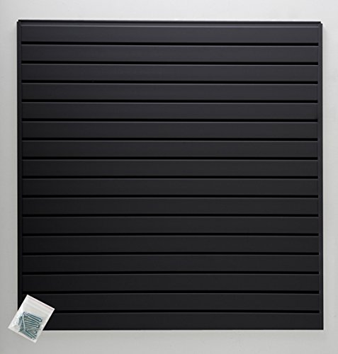Jifram 01000800 Easy Living Easy Wall Slat Wall Kit, Black by Jifram Extrusions