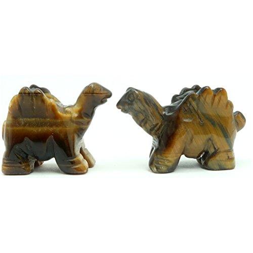 SatinCrystals Tigers Eye Animal Dinosaur Set 1.5