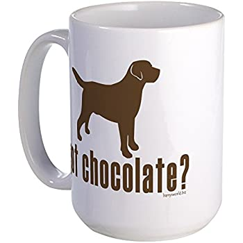CafePress - Got Chocolate Lab? Large Mug - Coffee Mug, Large 15 oz. White  Coffee Cup